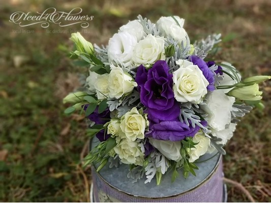 """All because of you"" bouquet"