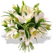 White lily bouquets (0)