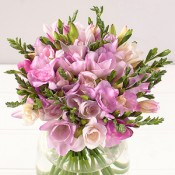 Pink freesia bouquets (1)