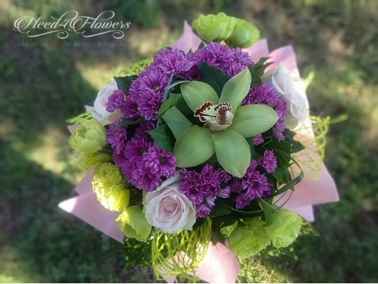 """""""My First My Last My Everything"""" bouquet"""