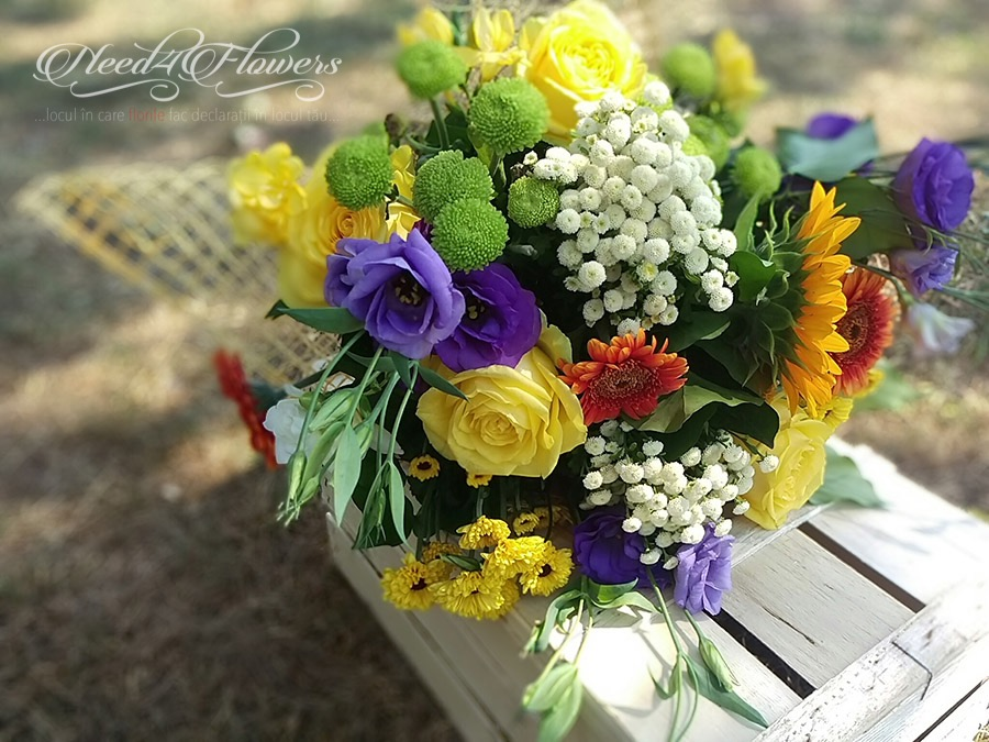 because of you bouquet
